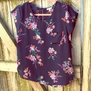 ✨Short sleeve blouses by Lily White 2/$15!✨